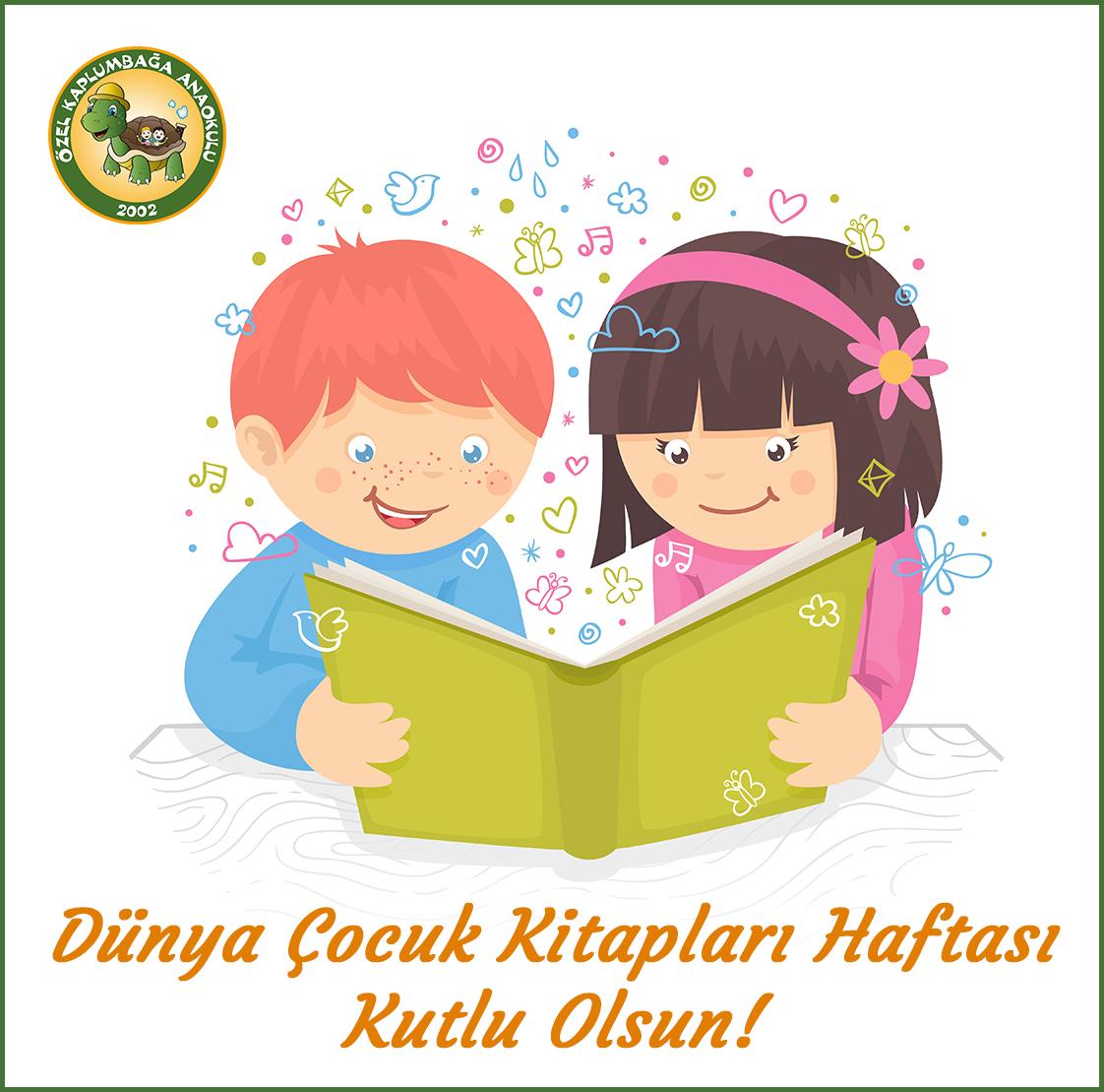 Dünya Çocuk Kitapları Haftası Özel Kaplumbağa Anaokulu Çengelköy