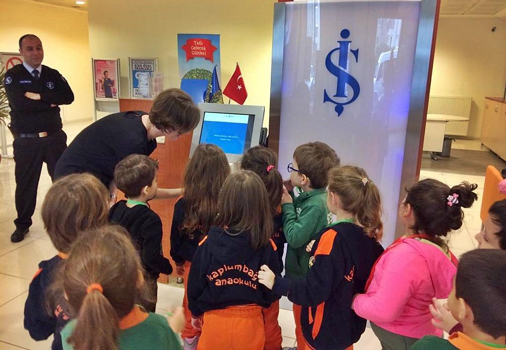 Bankası Gezisi Özel Kaplumbağa Anaokulu 2