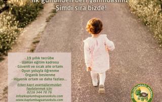 zel Kaplumbağa Anaokulu Çengelköy Erken Kayıt Avantajı