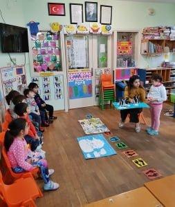 Kaplumbağa Anaokulu Galeri Günlük Eğitim Öğretim Hayatından Kareler 16
