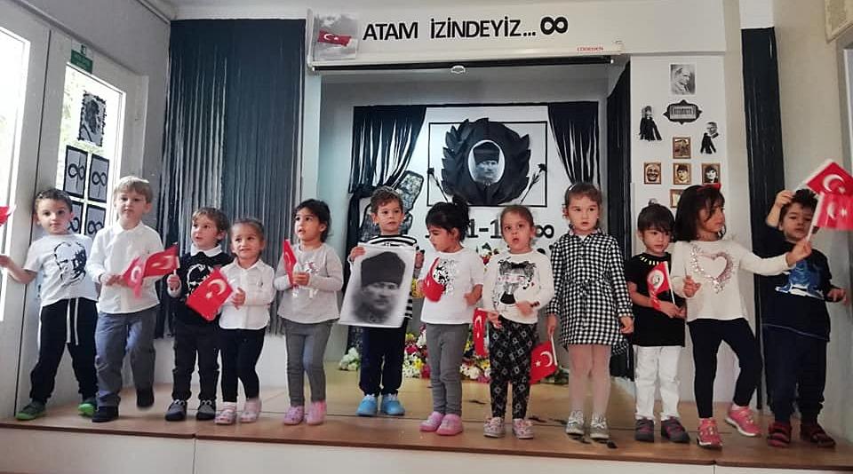 10 Kasım Atatürkü Anma Töreni Özel Kaplumbağa Anaokulu 10