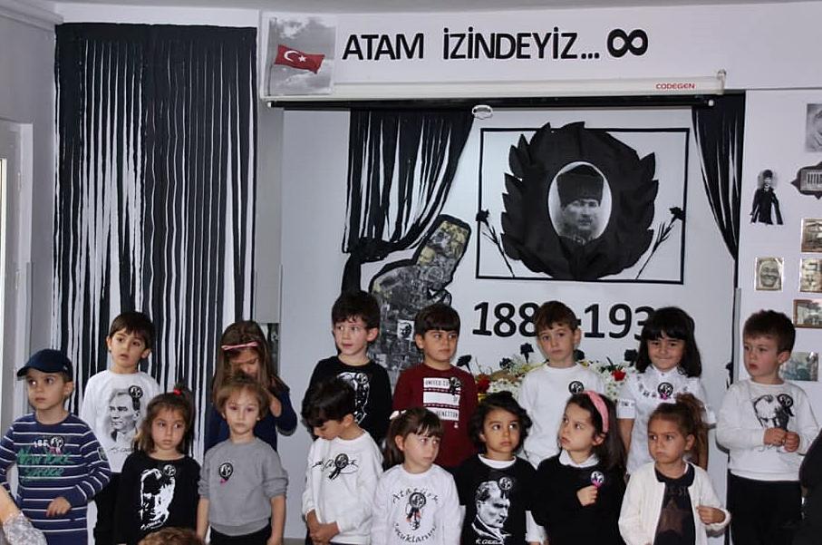 10 Kasım Atatürkü Anma Töreni Özel Kaplumbağa Anaokulu 11