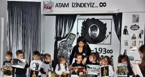 10 Kasım Atatürkü Anma Töreni Özel Kaplumbağa Anaokulu 12