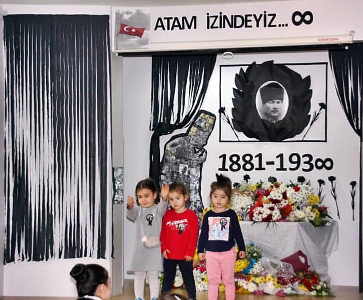 10 Kasım Atatürkü Anma Töreni Özel Kaplumbağa Anaokulu 13