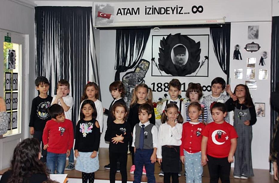 10 Kasım Atatürkü Anma Töreni Özel Kaplumbağa Anaokulu 14