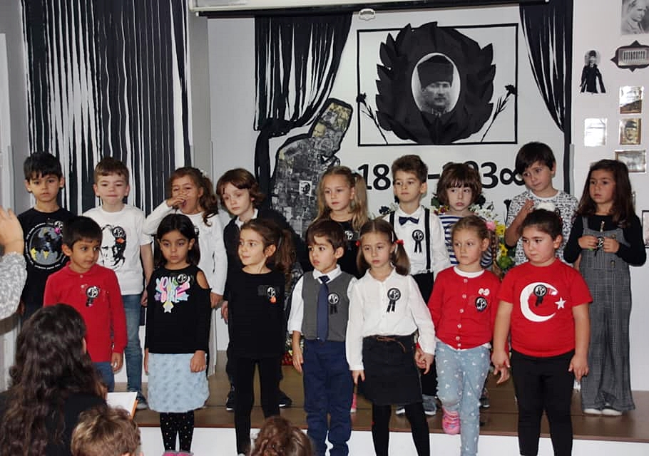 10 Kasım Atatürkü Anma Töreni Özel Kaplumbağa Anaokulu 15