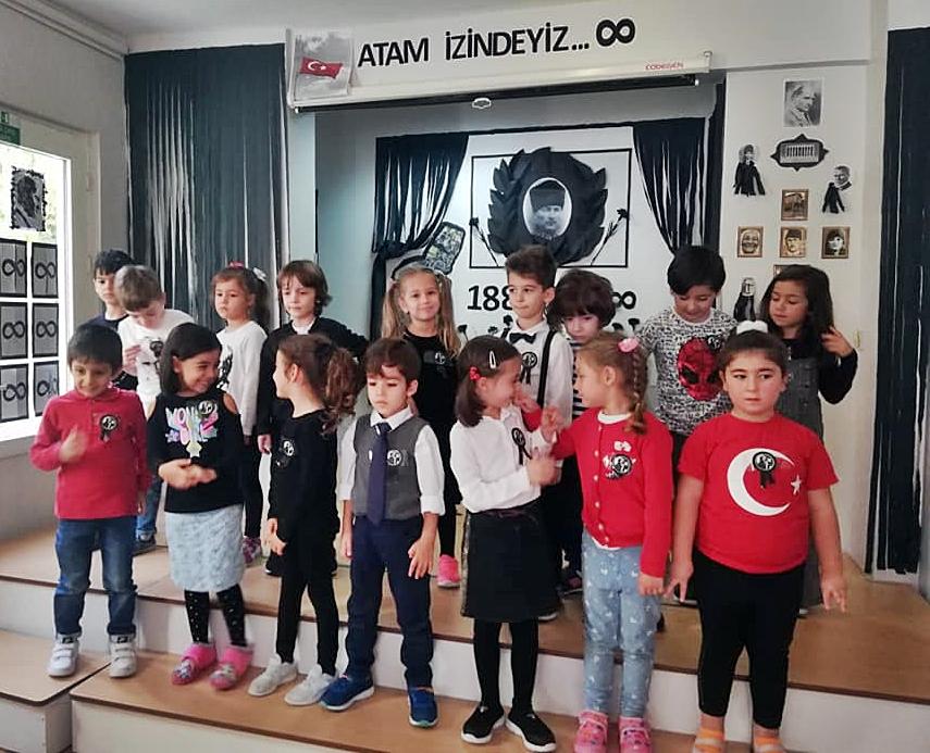 10 Kasım Atatürkü Anma Töreni Özel Kaplumbağa Anaokulu 16