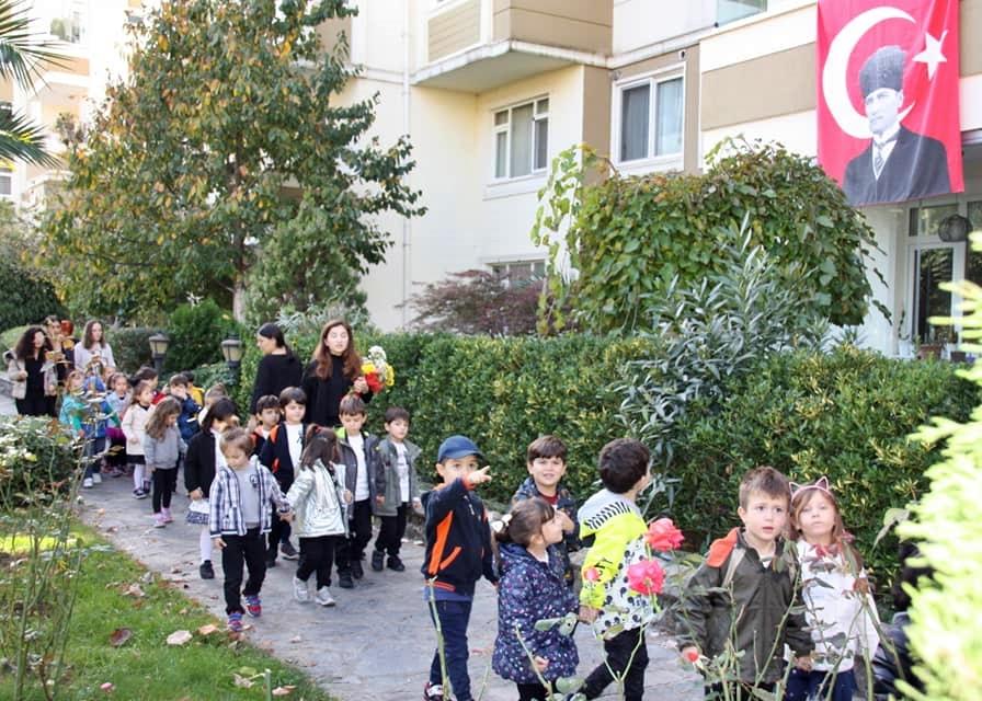 10 Kasım Atatürkü Anma Töreni Özel Kaplumbağa Anaokulu 19