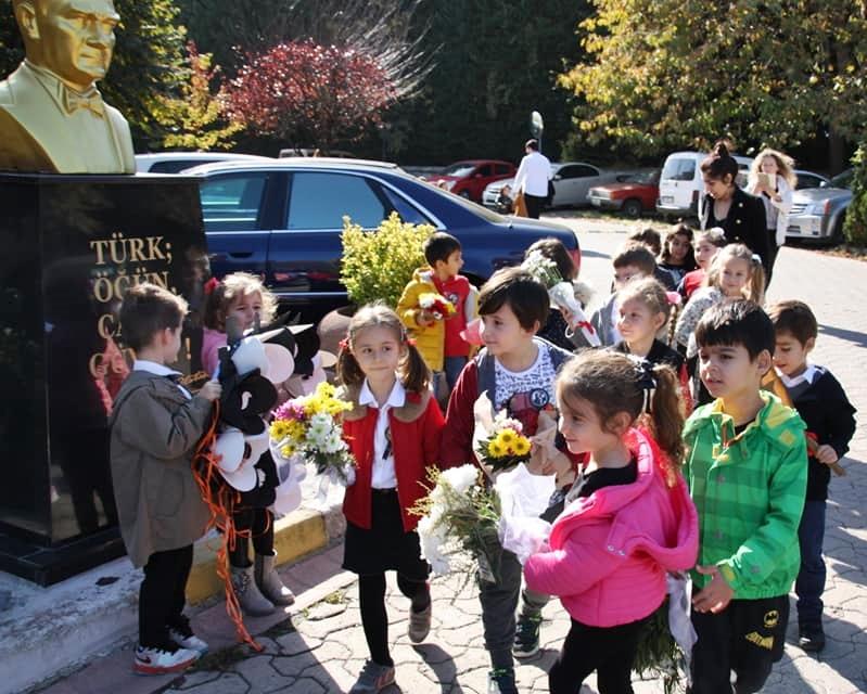 10 Kasım Atatürkü Anma Töreni Özel Kaplumbağa Anaokulu 21