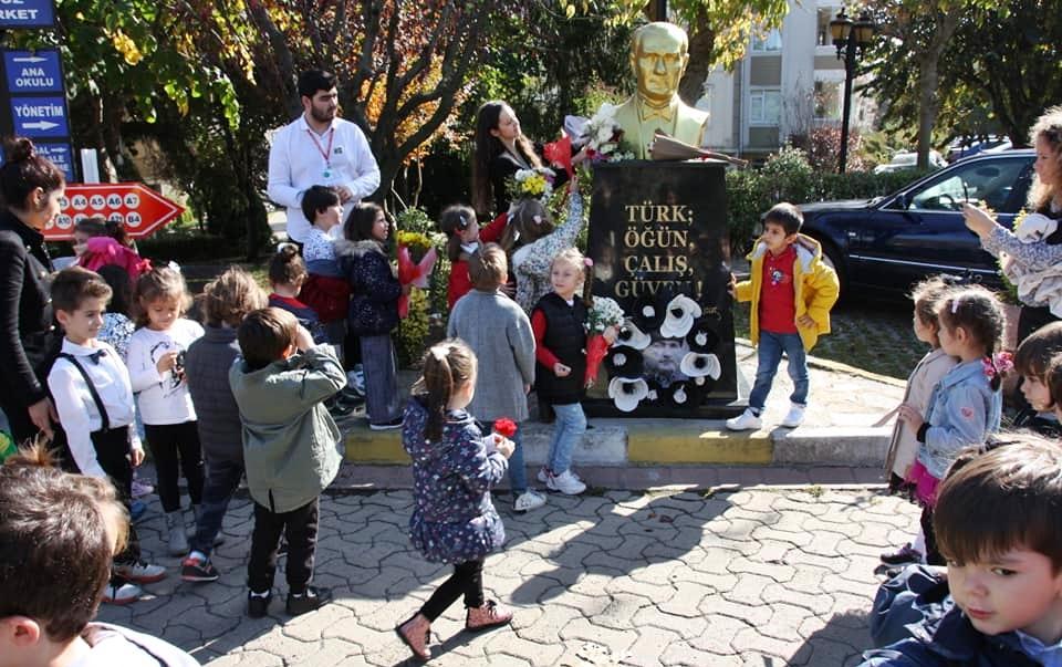 10 Kasım Atatürkü Anma Töreni Özel Kaplumbağa Anaokulu 22