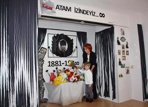 10 Kasım Atatürkü Anma Töreni Özel Kaplumbağa Anaokulu 3