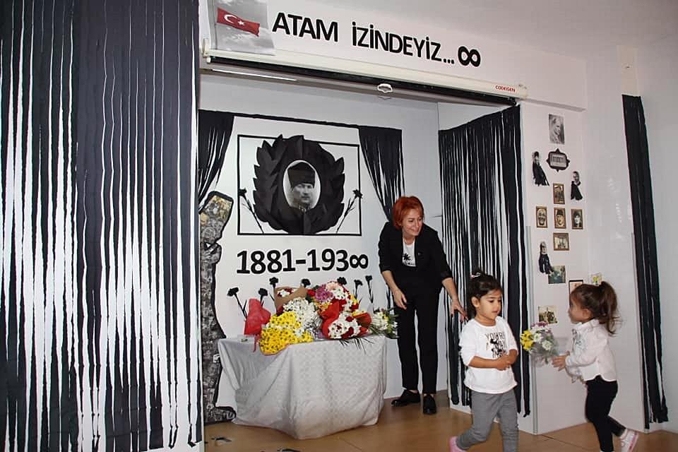 10 Kasım Atatürkü Anma Töreni Özel Kaplumbağa Anaokulu 4