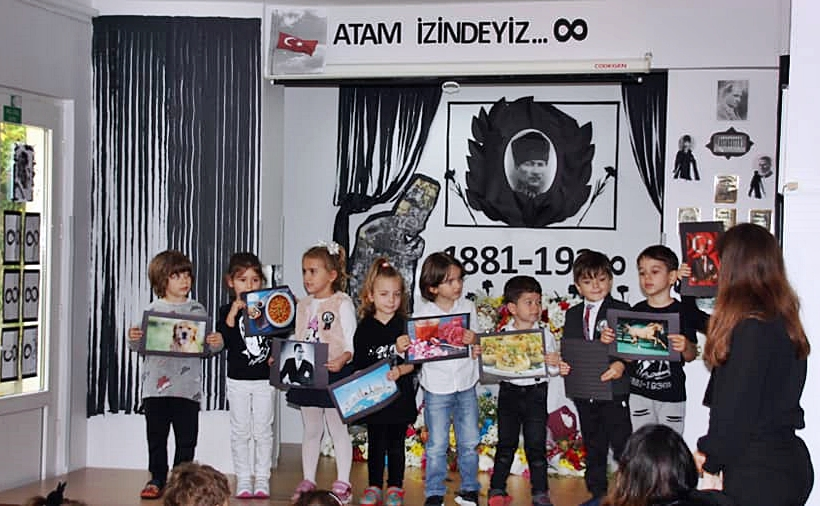 10 Kasım Atatürkü Anma Töreni Özel Kaplumbağa Anaokulu 7