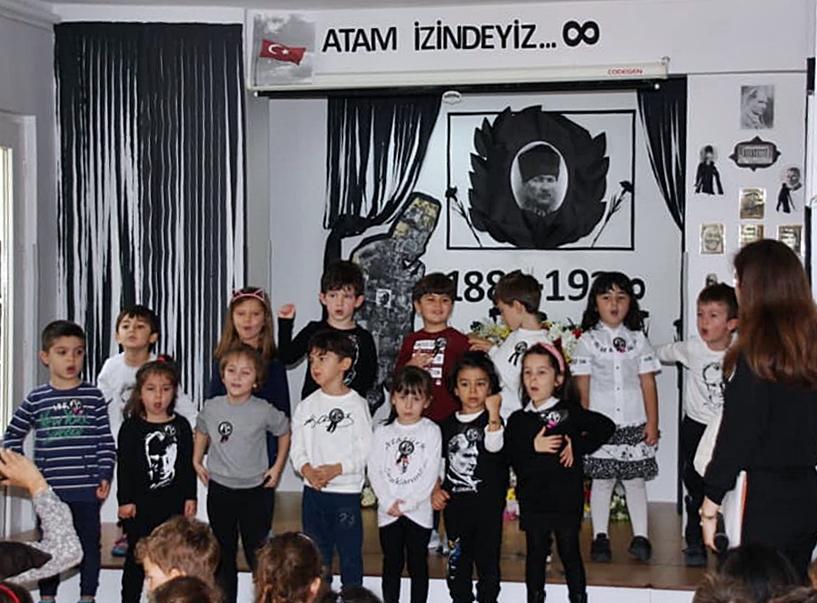 10 Kasım Atatürkü Anma Töreni Özel Kaplumbağa Anaokulu 8