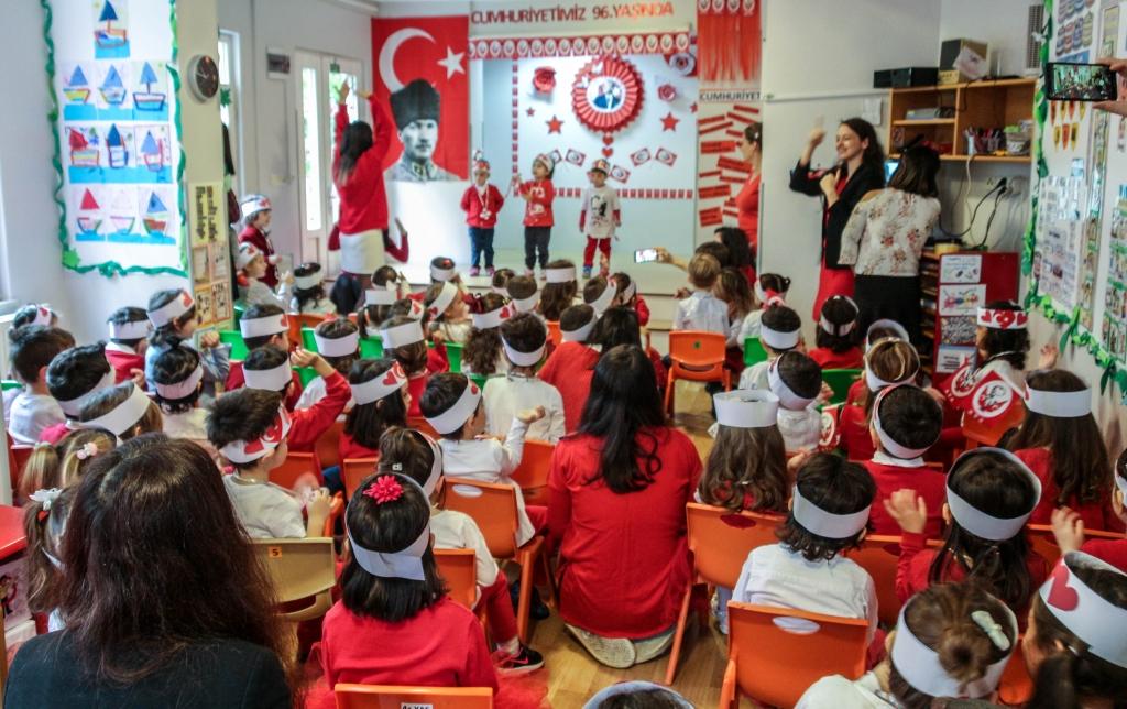 29 Ekim Cumhuriyet Bayramı Kutlaması Özel Kaplumbağa Anaokulu Çengelköy Üsküdar 9 scaled