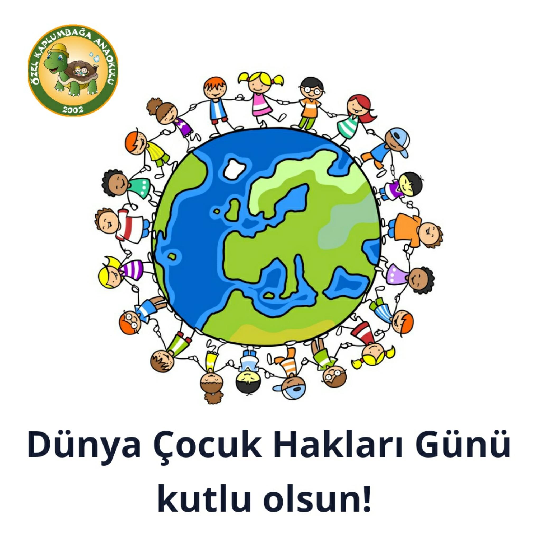 Dünya Çocuk Hakları Günü Özel Kaplumbağa Anaokulu Çengelköy