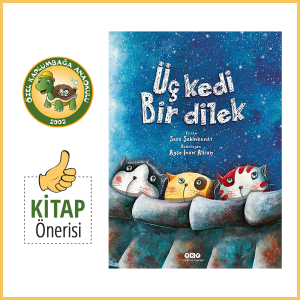 Kaplumbağa Anaokulu Kitap Önerisi Üç Kedi Bir Dilek